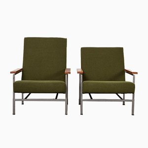 Mid-Century Lounge Chairs by Rob Parry for Gelderland, 1960s, Set of 2