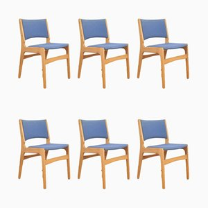 Chaises de Salon Mid-Century par Erik Buch, Danemark, 1960s, Set de 6