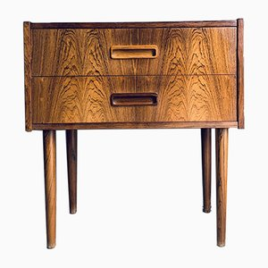 Danish Rosewood Chest of Drawers by K. Erik Jensen, 1960s