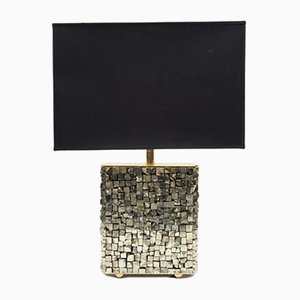 Pyrite Table Lamp by Georges Mathias, 1970s