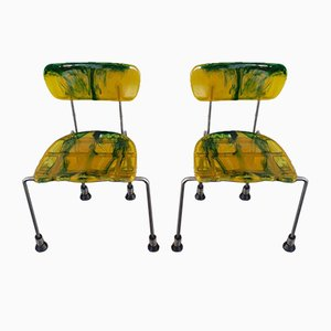 Model 543 Side Chairs by Gaetano Pesce for Bernini, 1993, Set of 2