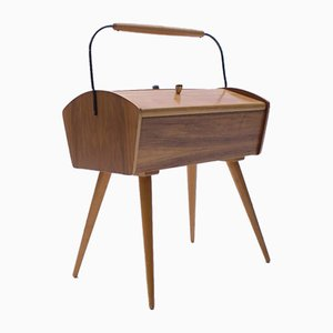 Mid-Century Scandinavian Sewing Box, 1950s