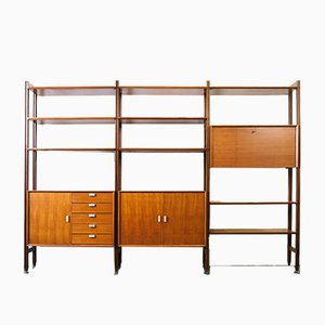 Scandinavian Teak Bookshelf, 1960s
