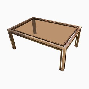 Mid-Century Italian Coffee Table by Romeo Rega, 1970s