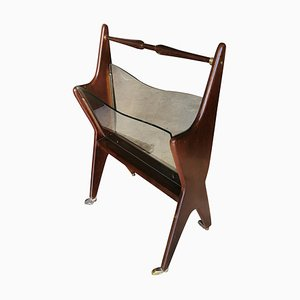 Magazine Rack by Cesare Lacca, 1940s