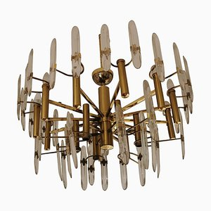 Chandelier by Oscar Torlasco for Stilkronen, 1960s