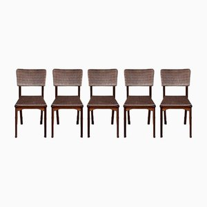 Mid-Century Danish Dining Chairs by Alfred Cox, Set of 5