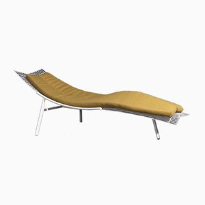 Swing Chaise Lounge by Giovanni Offredi for Saporiti Italia, 1980s