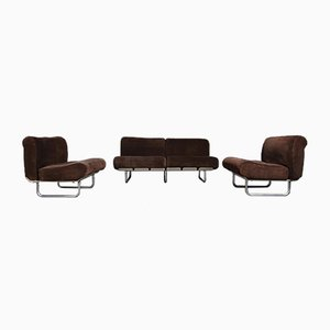 Model Senzafine Living Room Set by Eleonore Peduzzi Riva for Zanotta, 1960s, Set of 3