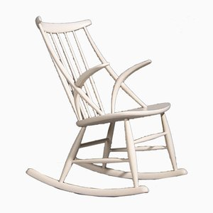 Rocking Chair by Illum Wikkelsø for Niels Eilersen, 1950s