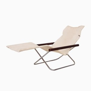 NY Folding Chair or Chaise Lounge by Takeshi Nii, Japan, 1950s