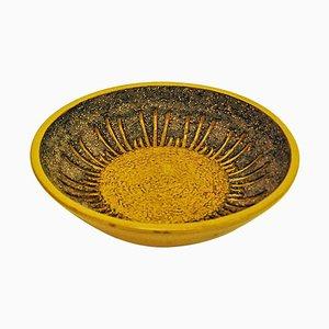 Ceramic Vintage Dish by Mari Simmulson for Upsala Ekeby, 1960s