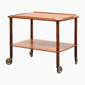 Scandinavian Style Teak Trolley, 1960s