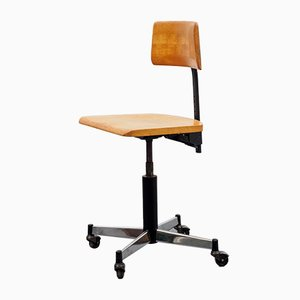 Beech Work Chair from Stoll Giroflex, 1967