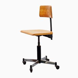Beech Work Chair from Stoll Giroflex, 1967