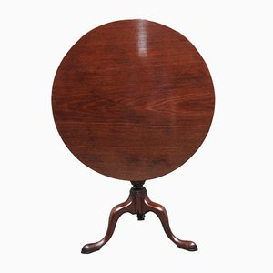 18th Century Mahogany Tripod Table