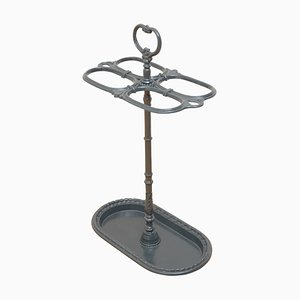 19th Century French Cast Iron Umbrella Stand