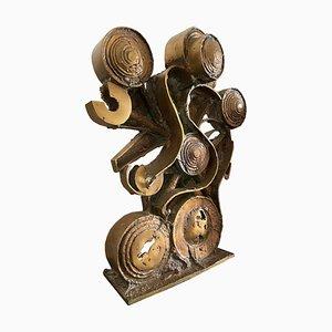 Vintage Bronze Sculpture by Umberto Mastroianni, Italy, 1970s