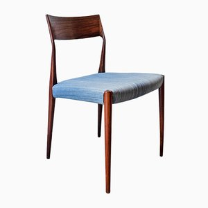 Rosewood Dining Chairs by Arne Vodder for Sibast, 1960s, Set of 4