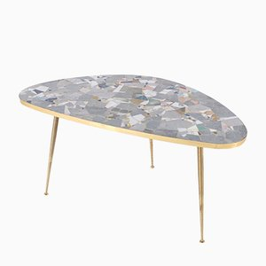 Tripod Free Form Mosaic Coffee Table, 1960s
