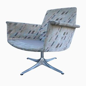 Aluminum Swivel Club Chair by Horst Brüning for Cor, 1960s