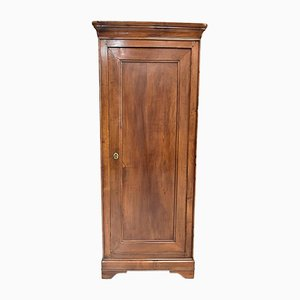 19th Century Solid Birch Bonnetiere Cabinet