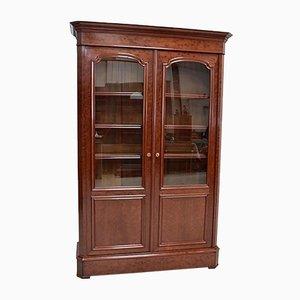 19th Century Mahogany Veneer Cabinet
