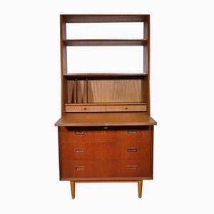 Mid-Century Teak Dresser and Shelf by Poul Cadovius, 1960s