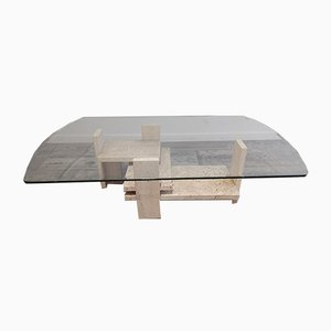 Vintage Sculptural Coffee Table by Willy Ballez