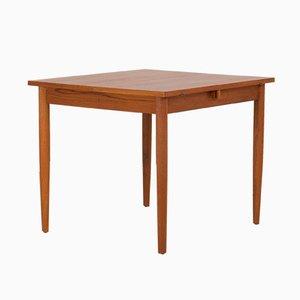 Danish Teak Extension Drop-Leaf Dining Table, 1960s