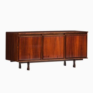 Italian Rosewood Sideboard by Giovanni Ausenda for Stilwood
