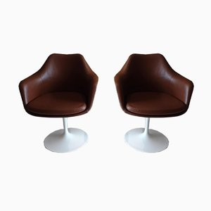 Vintage Swivel Chairs by Eero Saarinen for Knoll Inc. / Knoll International, Set of 2