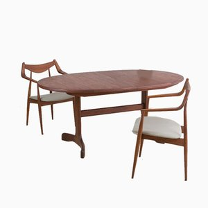 Mid-Century Extendable Teak Dining Table from G-Plan