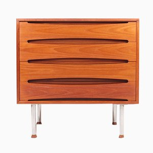 Mid-Century Teak Chest of Drawers from Skovby, 1960s