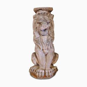 Sculpture Garden Stone Lion, 1920s