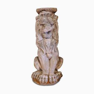 Stone Lion Garden Sculpture, 1920s