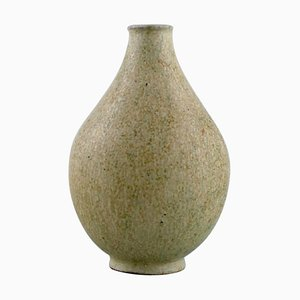Vintage Glazed Ceramic Vase by Arne Bang