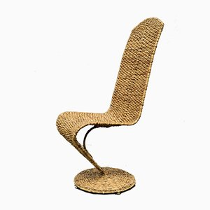 Banana Leaf S Chair by Marzio Cecchi, 1970s