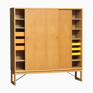 Swedish Oak Cabinet or Buffet by Børge Mogensen for Karl Andersson, 1970s
