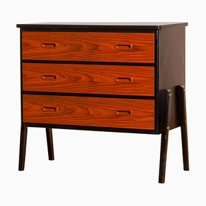 Small Teak Chest of Drawers from Gyllensvaan Möbler, Sweden, 1950s