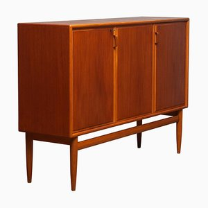 Teak and Oak Buffet Cabinet by Bertil Fridhagen for Bodafors, 1950s