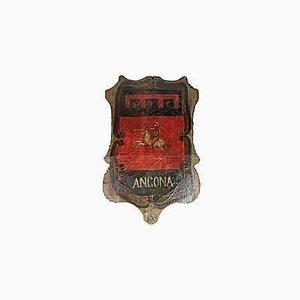 Antikes Wappen der Stadt Ancona