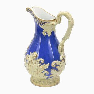 Blue and White Pitcher, 1800s