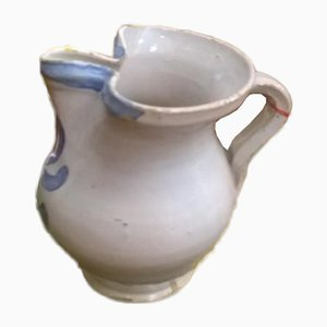 Ceramic Jug from Pollenza MC, 1800s