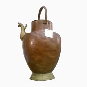 Empire Copper Jug with Animated Beak, 1800s