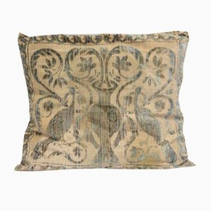 Cushion with Art Nouveau Gold Threads