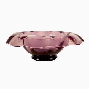 Cuenco grande de cristal de Murano