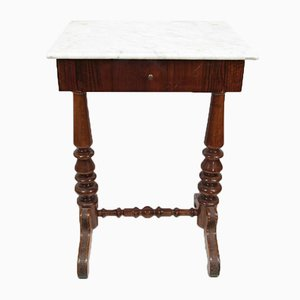 Louis Philippe Walnut Dressing Table