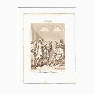 December 19 San Nemesio Engraving by F. Bigioli