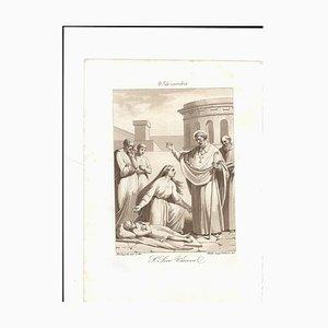 December 9 San Siro Bishop Engraving by F. Bigioli